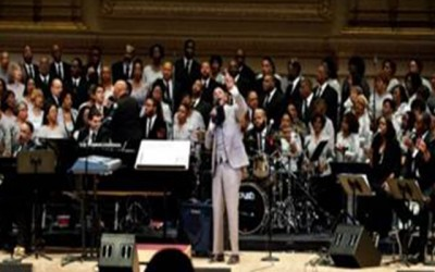 Award-Winning Gospel Singer Donnie McClurkin & Kim Burrell Lead Worship At New York City's Carnegie Hall